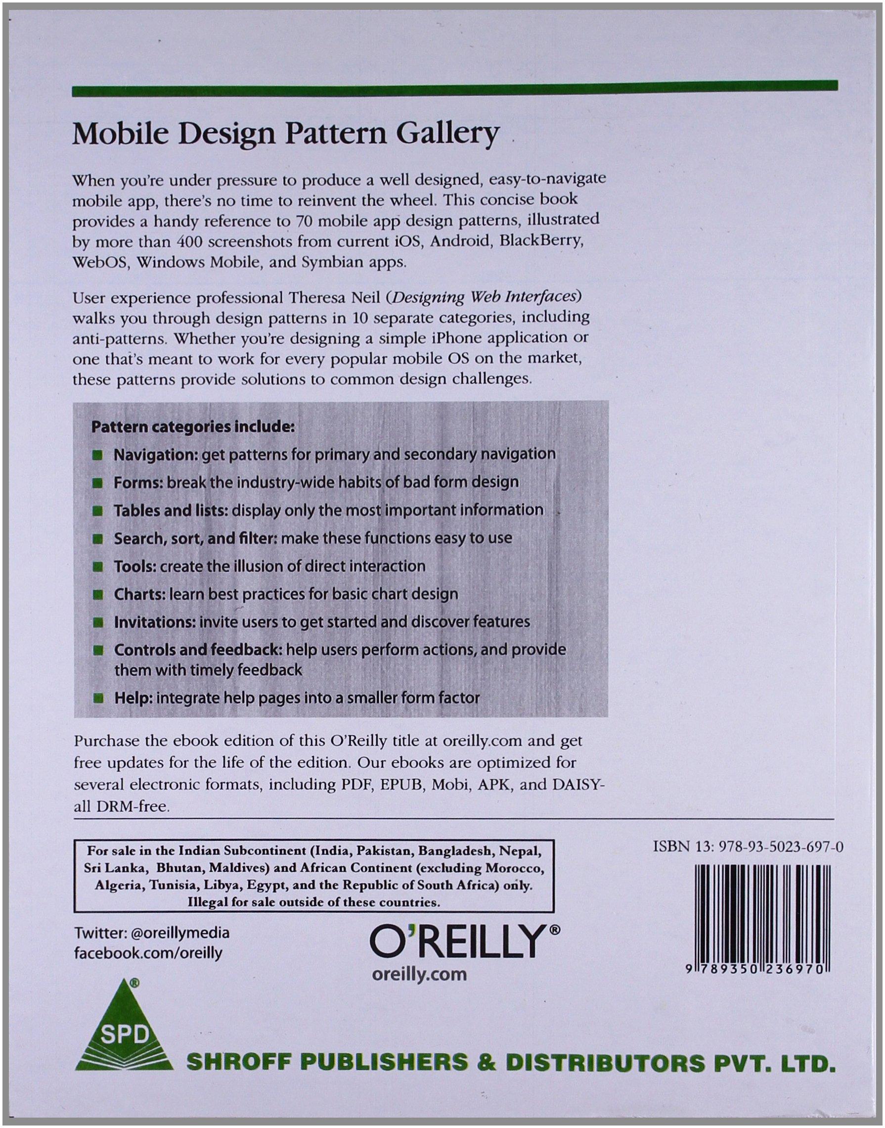 Mobile Design Pattern Gallery Ebook
