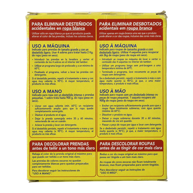 Iberia - Quitamancha - Soluciona para eliminar desteñidos accidentales en ropa blanca - 240 g: Amazon.es: Alimentación y bebidas