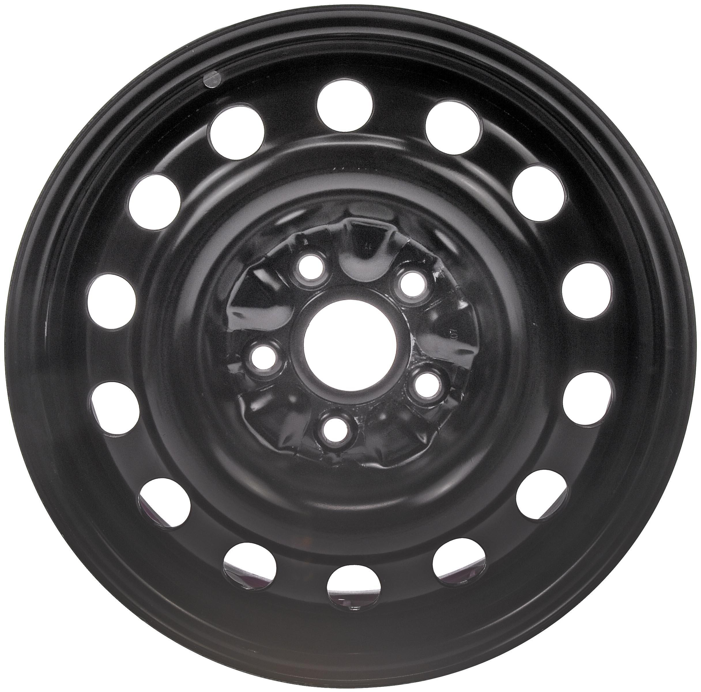 Dorman 939-121 Steel Wheel (16x6.5in.) for Select Toyota Models, Black