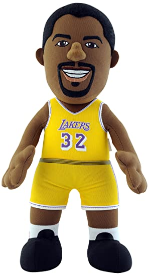 NBA Magic Johnson Los Angeles Lakers Muñeco, Talla Única: Amazon.es: Deportes y aire libre