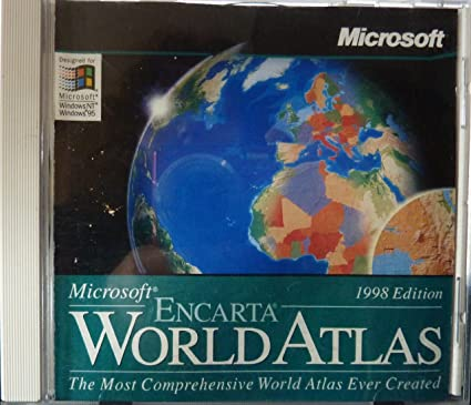 Microsoft encarta world atlas 98 amazon software microsoft encarta world atlas 98 gumiabroncs Images