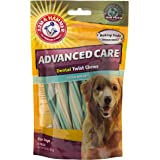 Arm & Hammer Dog Dental Care Fresh Breath Twisted Sticks Dental Chews for Dogs | Fresh Doggie Breath Without Brushing, 6.8 ounces (8 Pcs), Mint Flavor