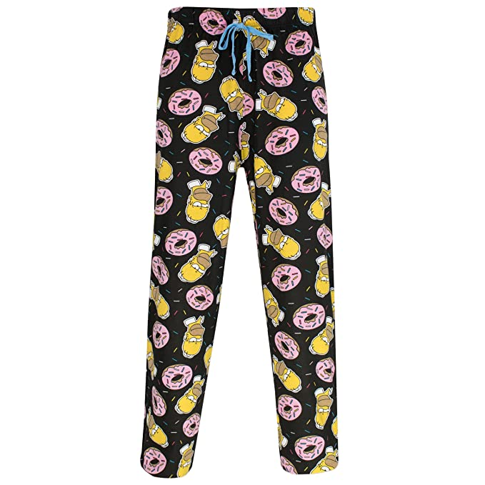 Los Simpsons - Pijama para Hombre - Homer Simpson: Amazon.es: Ropa y accesorios
