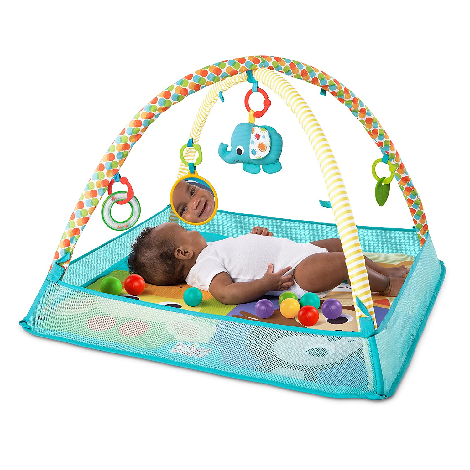 Bright Starts Mesh Ball Pit Activity GYM Spieldecke
