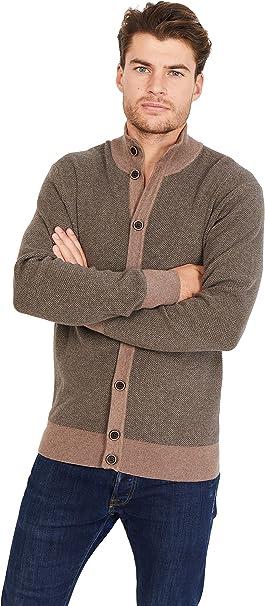 Jack Stuart Cardigan in Cotone e cashemere Stile Casual Chic per Uomo