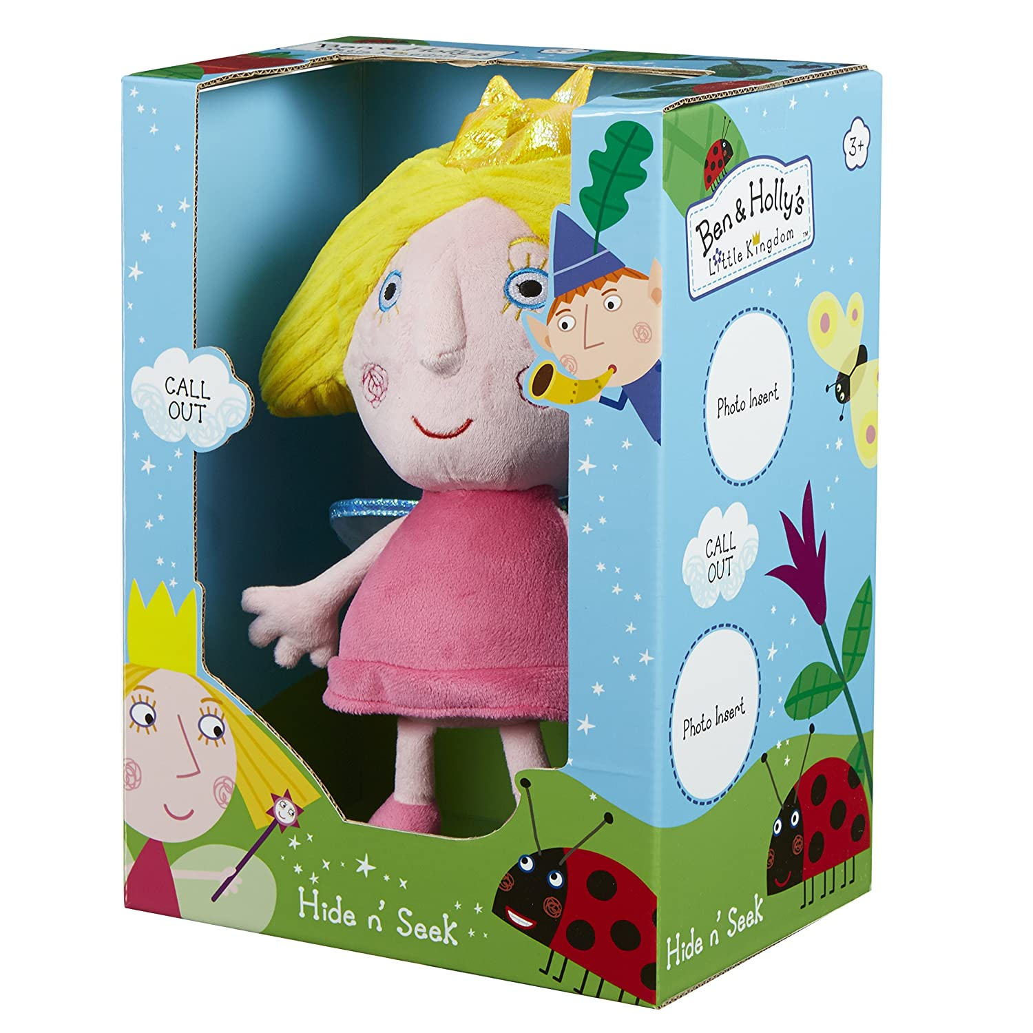 Amazon.com: Ben and Hollys Little Kingdom Hide & Seek Holly: Toys & Games