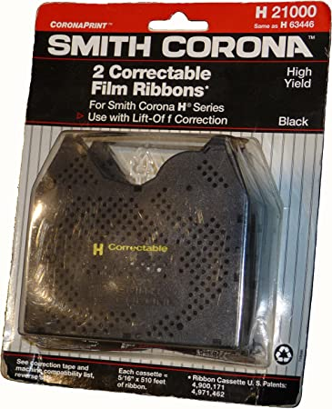 Around The Office Compatible Smith Corona Typewriter Ribbon /& Correction Tape for XL 2500.This Package Includes 2 Typewriter Ribbons and 2 Lift Off Tapes