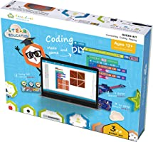 HoneyComb Queen Kit Electronic Building Blocks | A Creative and Educational STEM Coding Toy | Teaches Programming Skills...