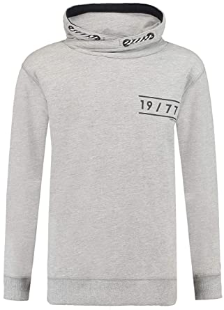 Garcia Jungen Sweatshirt, Grey Melee regulär fit T83668