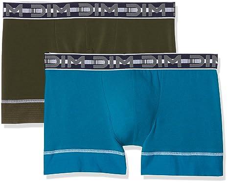 Dim - 3D Flex Stay   Fit - Boxer - Uni - Lot de 2 - Homme  Amazon.fr   Vêtements et accessoires 22e03d0ab860