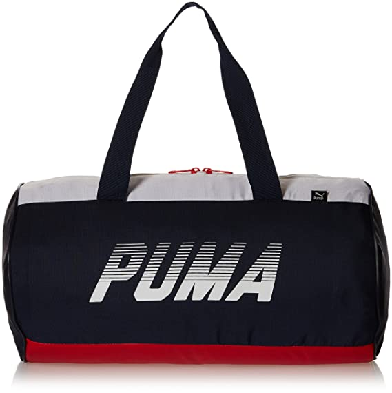 407dfed073b1 Puma 25 Ltrs Peacoat and Barbados Cherry Gym Bag (7415302) Gym Bags