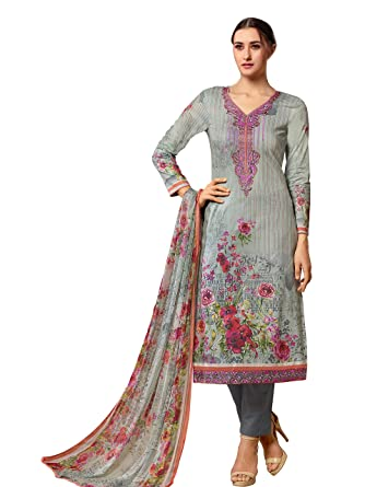 f678be98d0 Vidhatri Fashionable And Modern Salwar Suit Material For All The Women's..:  Amazon.in: Clothing & Accessories