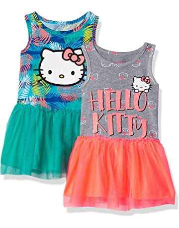 25cd7a258 Hello Kitty Girls 2 Pack Embellished Dresses