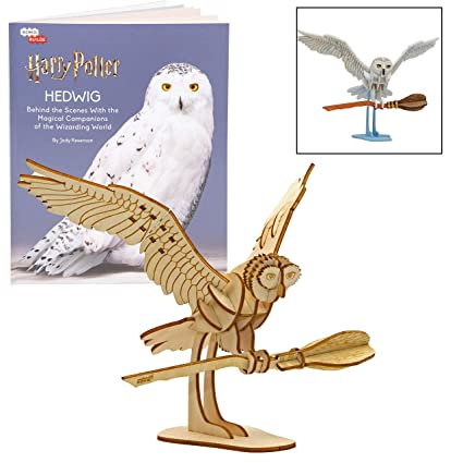 Amazon.com: Harry Potter Hedwig Book y 3D Wood Model Figure ...