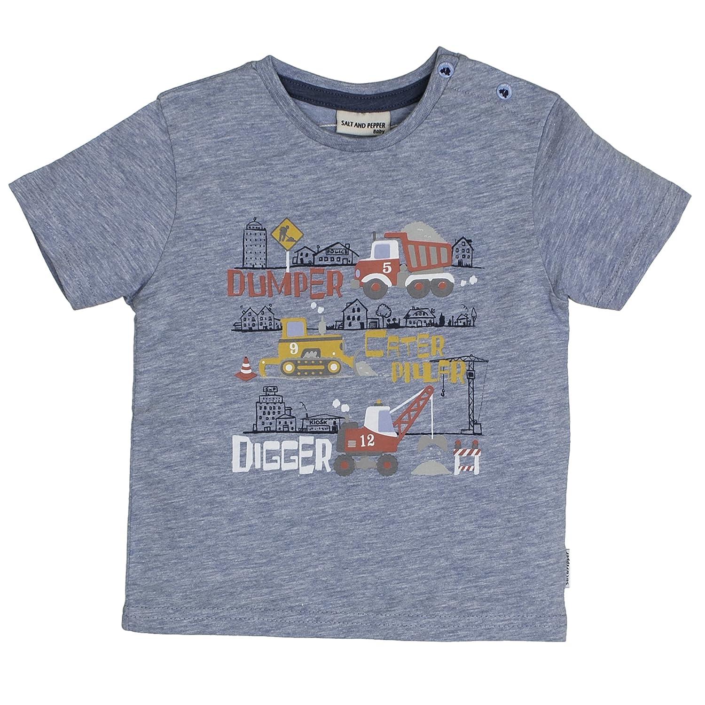 Salt & Pepper Baby Boys' B T-Shirt Just Cool Digger SALT AND PEPPER 83212146