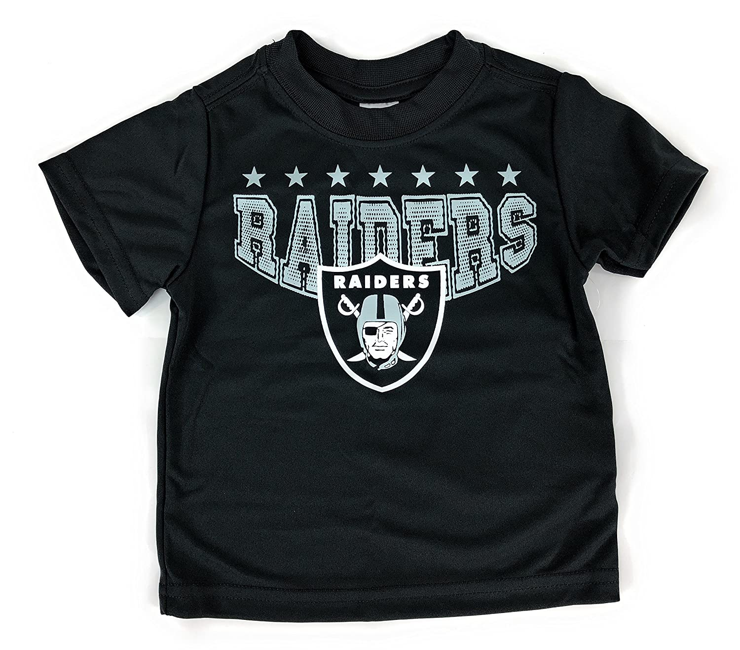 Amazon.com  Gerbers Childrenswear Grey Infant Toddler Oakland Raiders Poly T -Shirt  Clothing 23cf91461