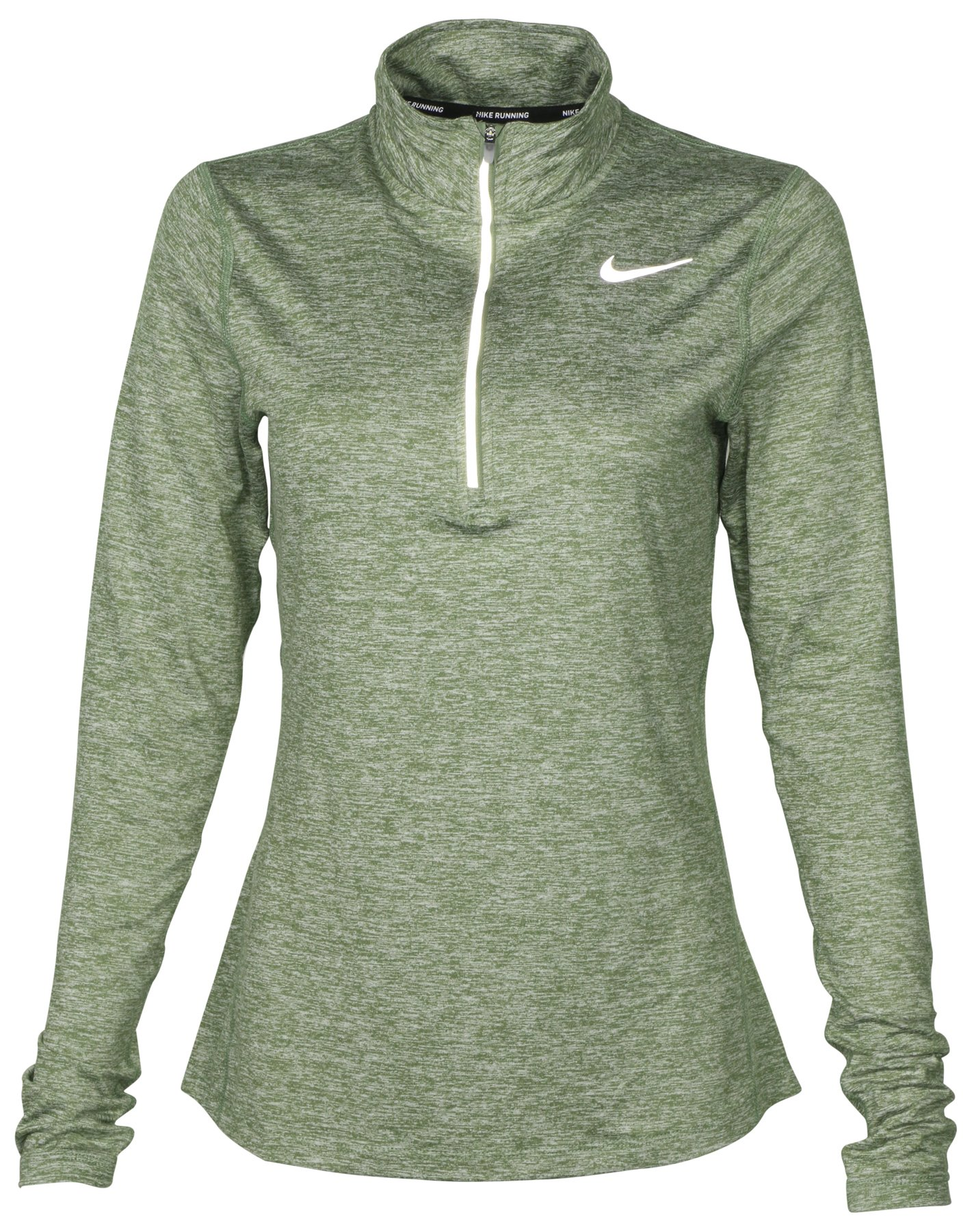 5ebe3afdc428f Galleon - NIKE Women s Dri-Fit Running 1 2 Zip Shirt Green 904900 300 (XS)