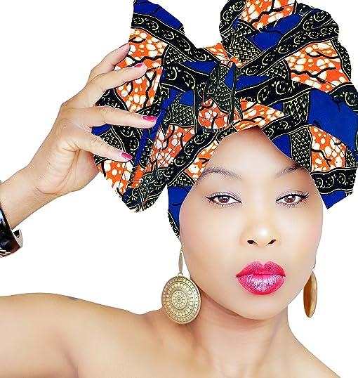 African Head Wrap | HEAD WRAP | Hijab | PREMIUM QUALITY HEAD WRAP African Head Wraps
