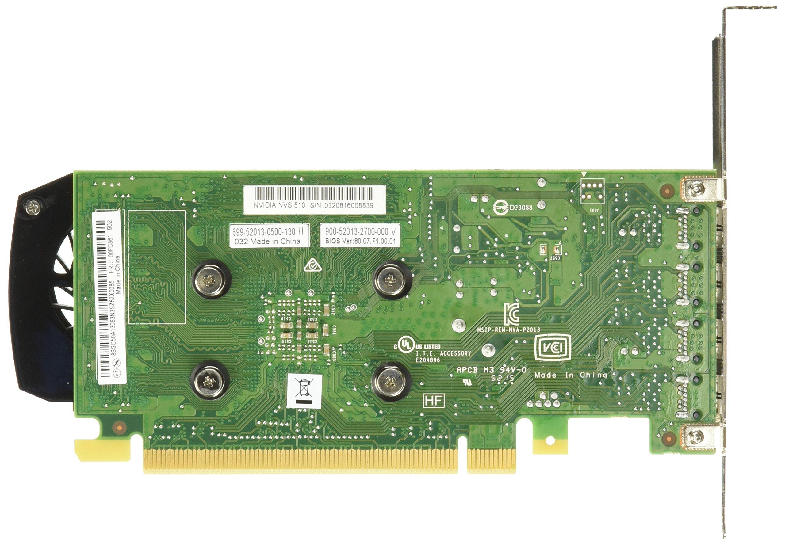 NVIDIA NVS 510 Graphics Card 0B47077 by NVIDIA (Image #2)