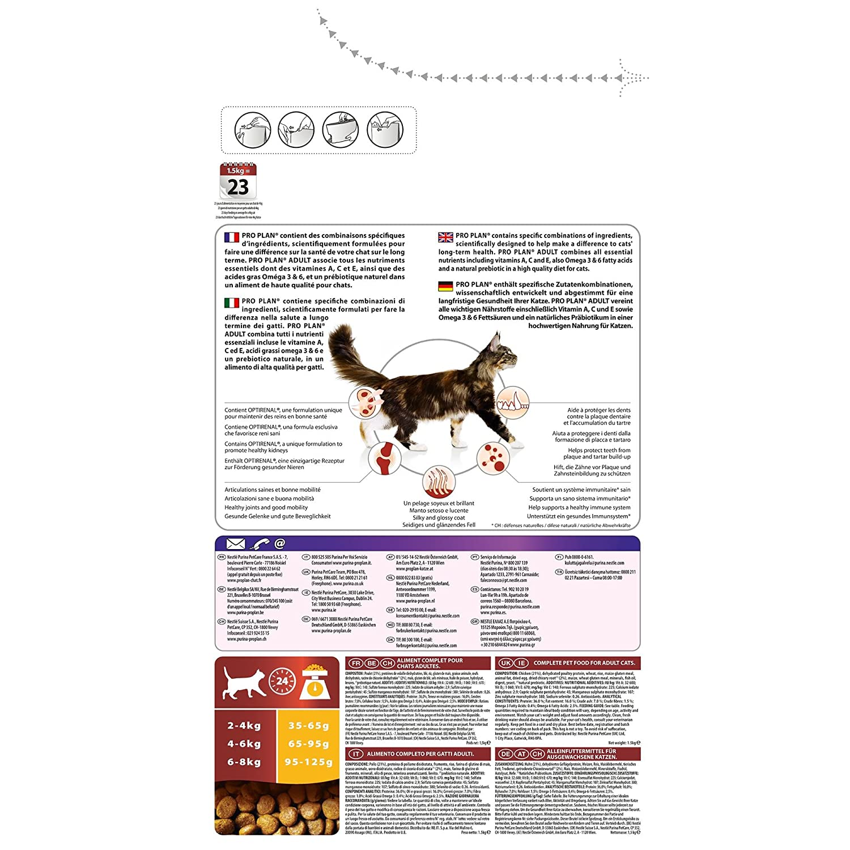 Purina ProPlan Adult pienso para Gato Adulto Pollo 10 Kg