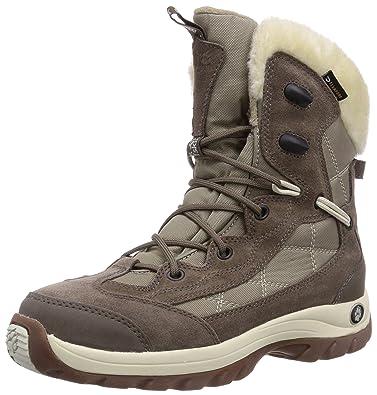 offiziell echte Schuhe anerkannte Marken Jack Wolfskin ICY PARK TEXAPORE Damen Warm gefütterte Schneestiefel