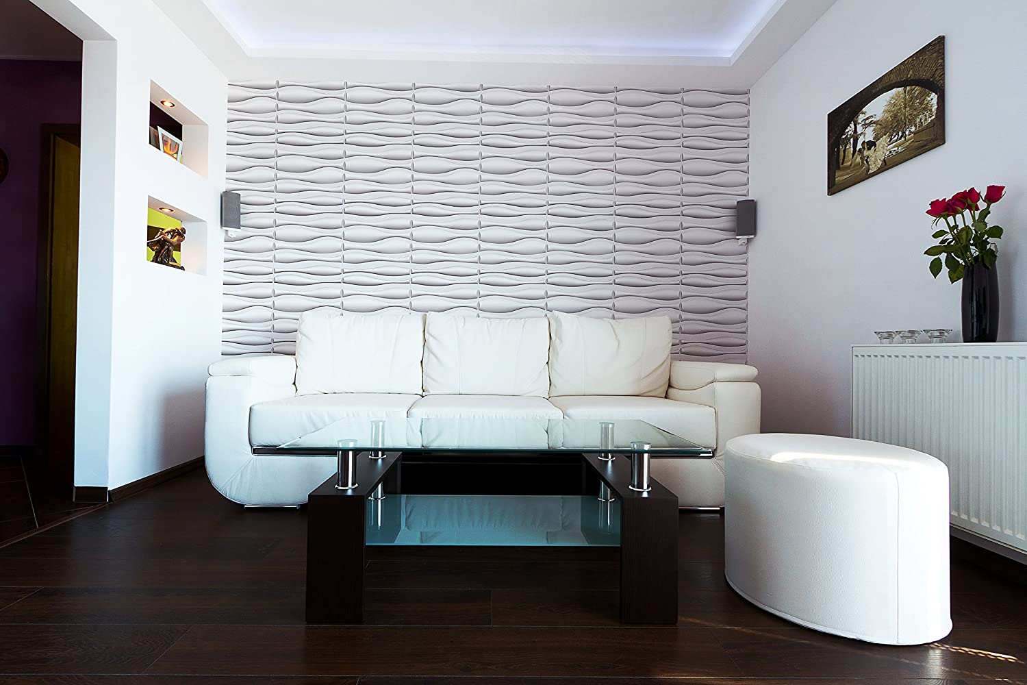 100 Modern Wall Coverings Feature Custom Papers And 3d Tiles ...