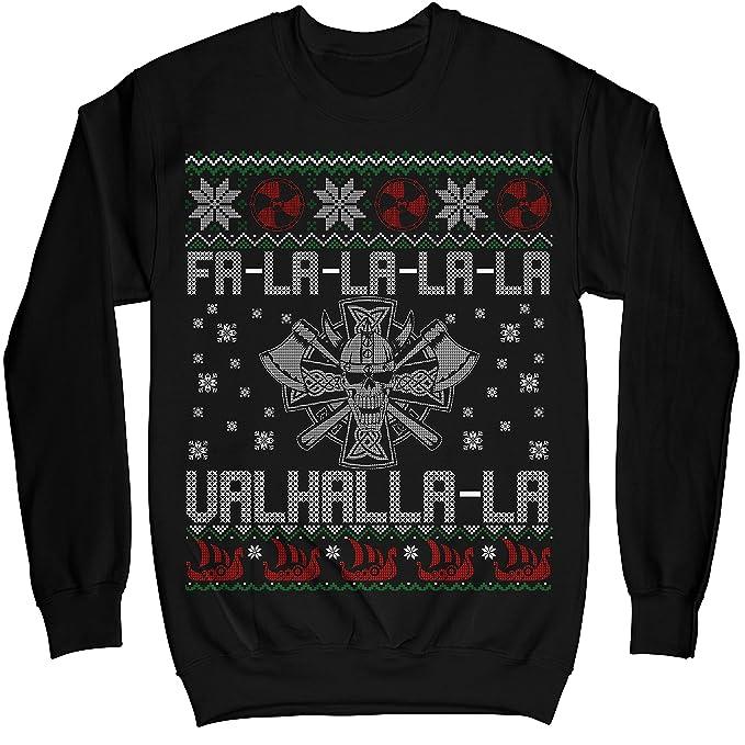 Amazon.com: MIK Prendas de vestir Fa-La-La-La-La valhalla-la ...
