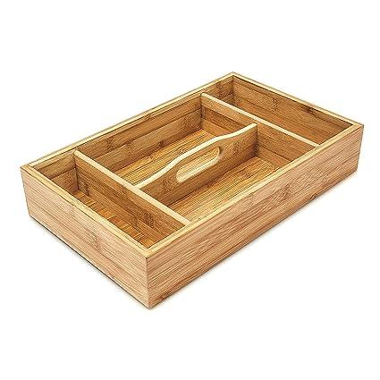 Amazon.com: Relaxdays Cocina Organizador para cajón con asa ...