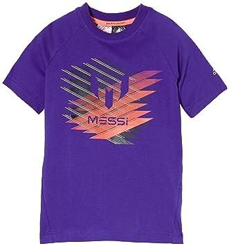 Adidas Messi Graphic - Camiseta para niño morado morado Talla:164