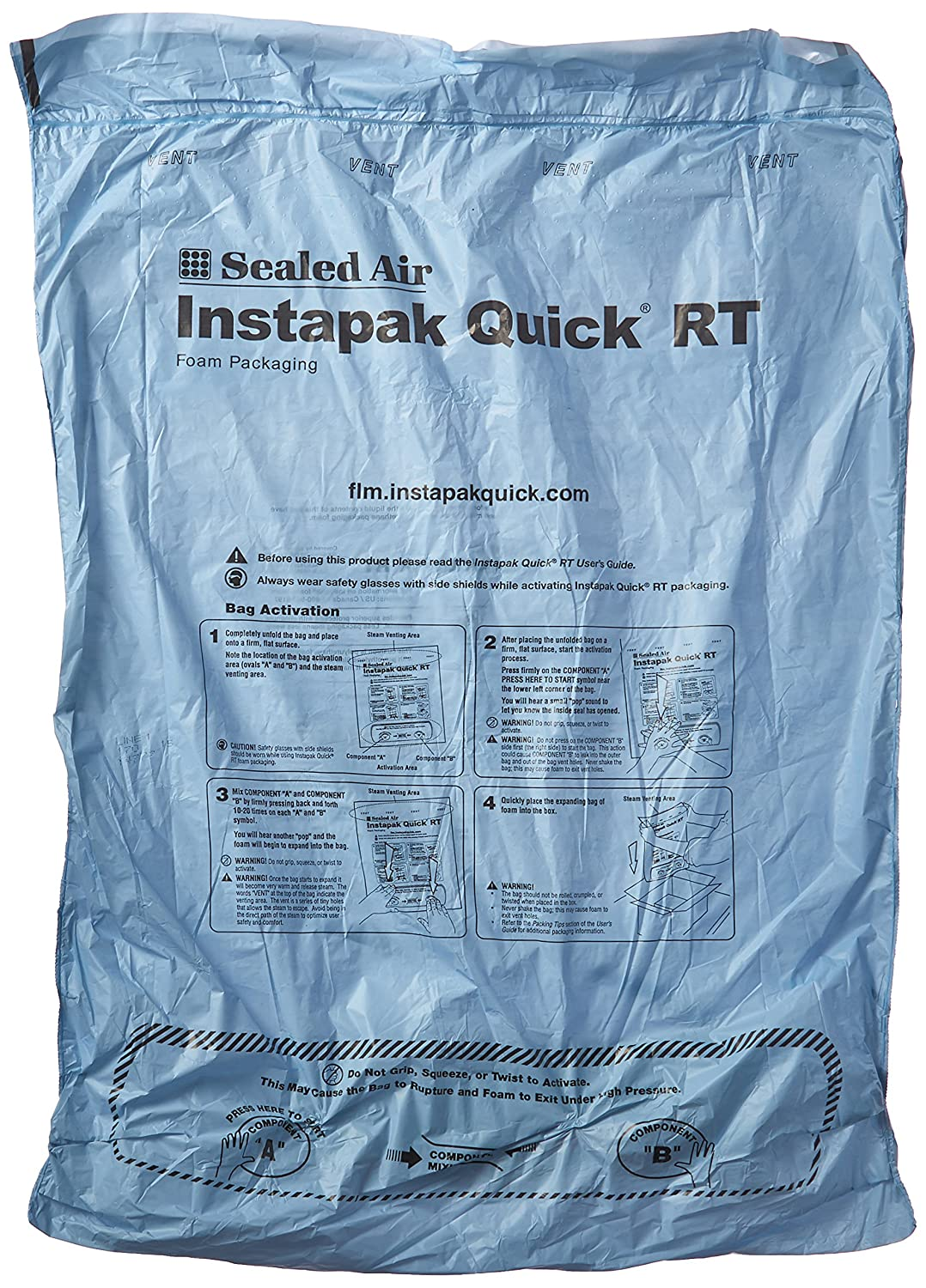 Instapak Quick IQHRT00 60#60 Bag 18 x 24 Pack of 30