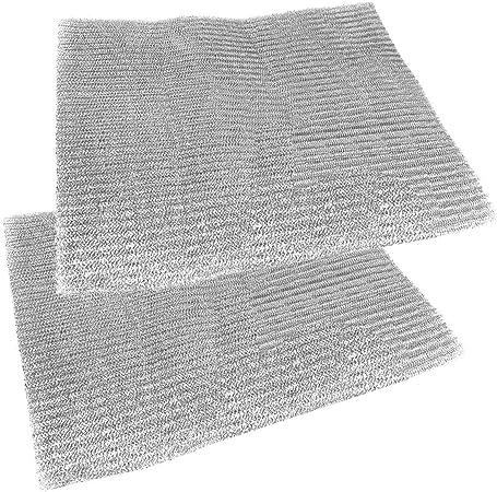 Spares2go aluminio filtro malla para campana extractora Bosch/Neff/Siemens/ ventilador de extracción de aire rejilla de ventilación (lote de 2 filtros, 57 x 47 cm): Amazon.es: Hogar