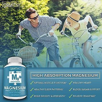 Amazon.com: Suplemento complejo de óxido de magnesio para ...