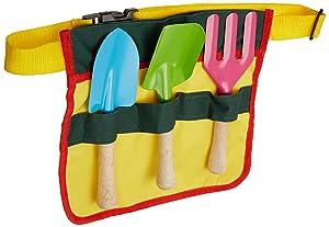 Esschert Design USA KG55 Children Tool Belt with Tools