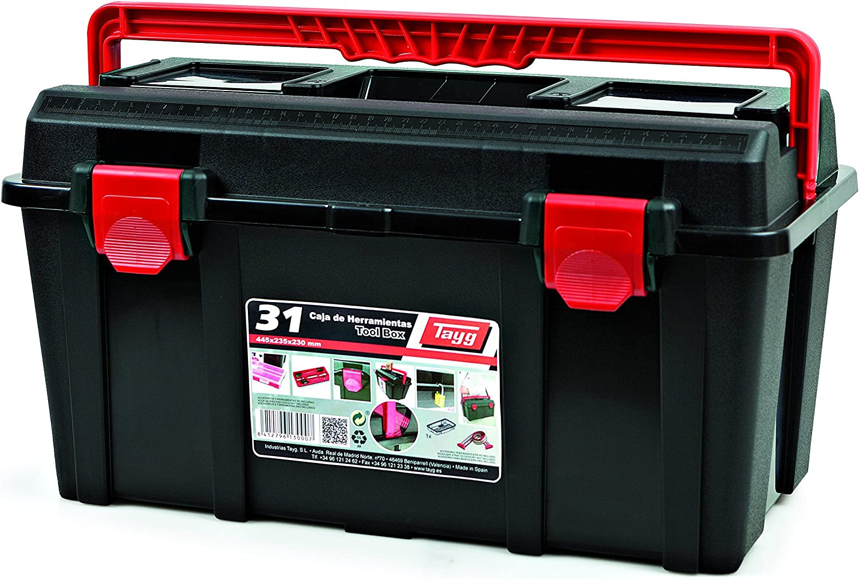 Tayg 131004 Caja herramientas plástico nº 31, 445 x 235 x 230 mm ...