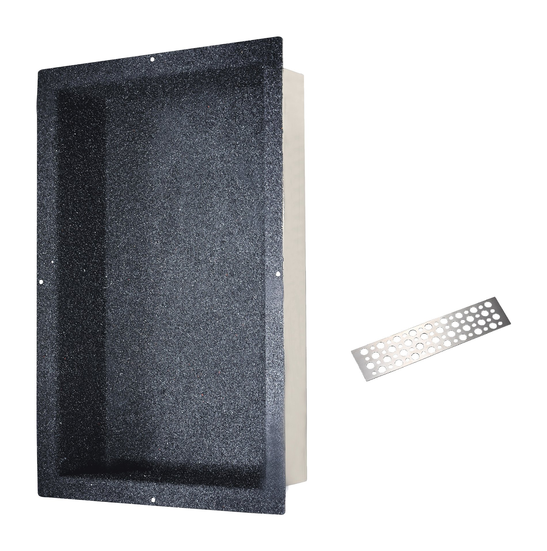 Dawn NI241403 Stainless steel Shower Niche with One Stainless steel Support Plate
