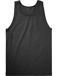 44ac35bec77973 Hat and Beyond KS Mens Tank Top Muscle Fit Active Exercise Sleeveless Shirt