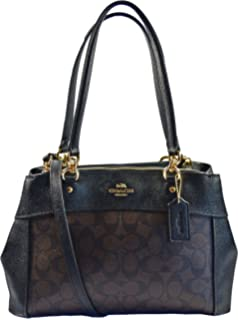 4277dd84113e Amazon.com  Coach Christie Carryall in Crossgrain Leather  Clothing