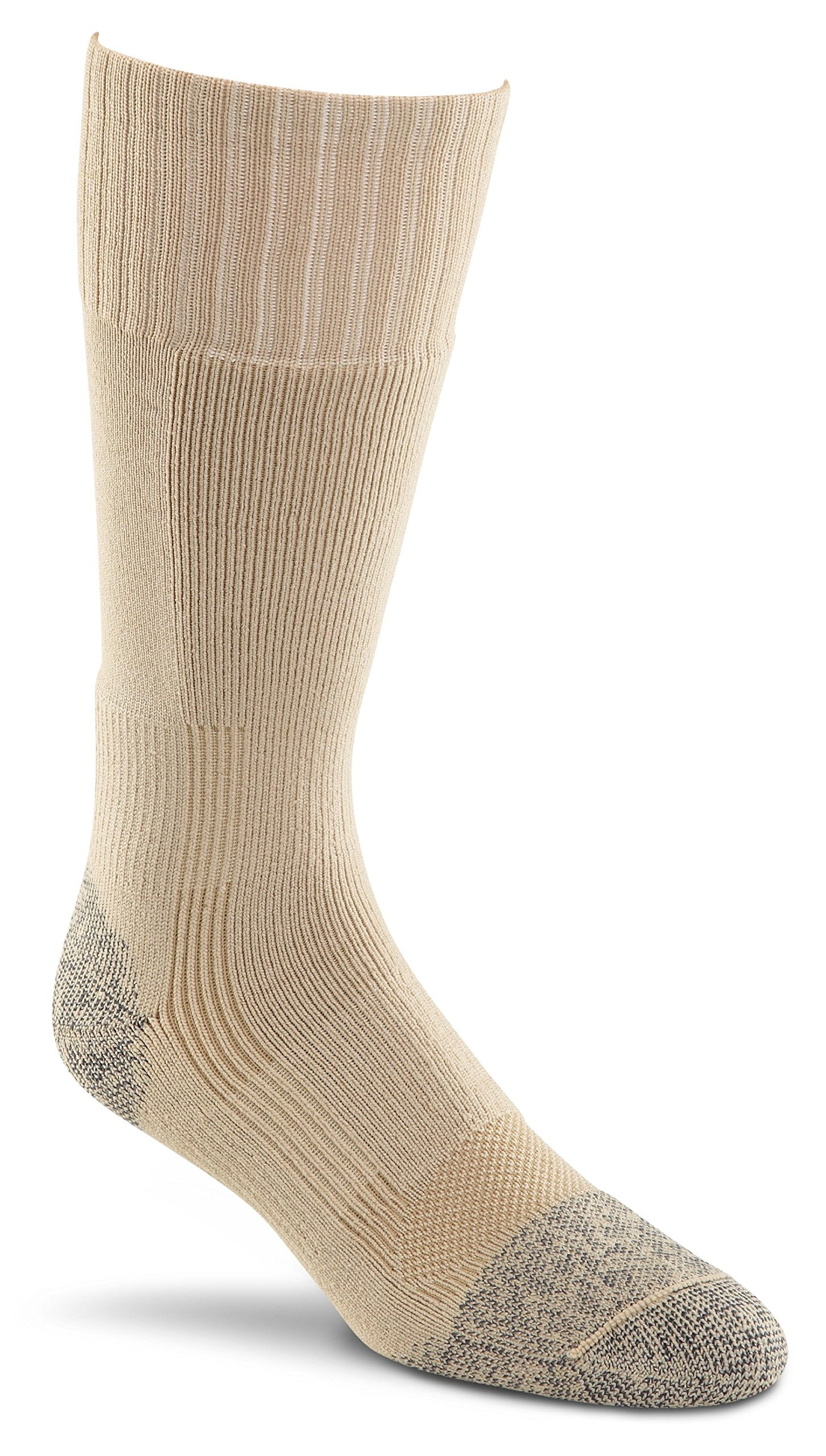 Fox River Military Wick Dry Maximum Mid Calf Boot Sock (Large/Beige) by FoxRiver