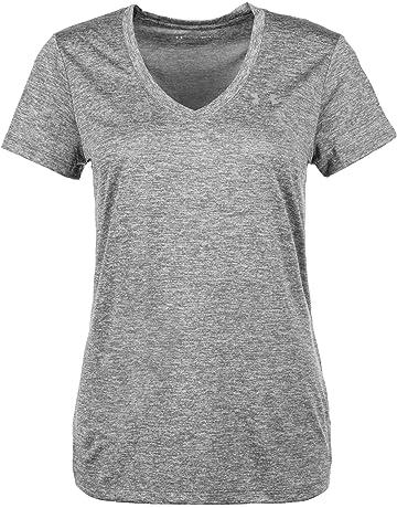 premium selection 220b7 088f4 Under Armour Women s Tech V-Neck Twist T-Shirt.  3