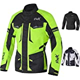 Adventure/Touring Motorcycle Jacket For Men Textile Motorbike CE Armored Waterproof Jackets ADV 4-Season
