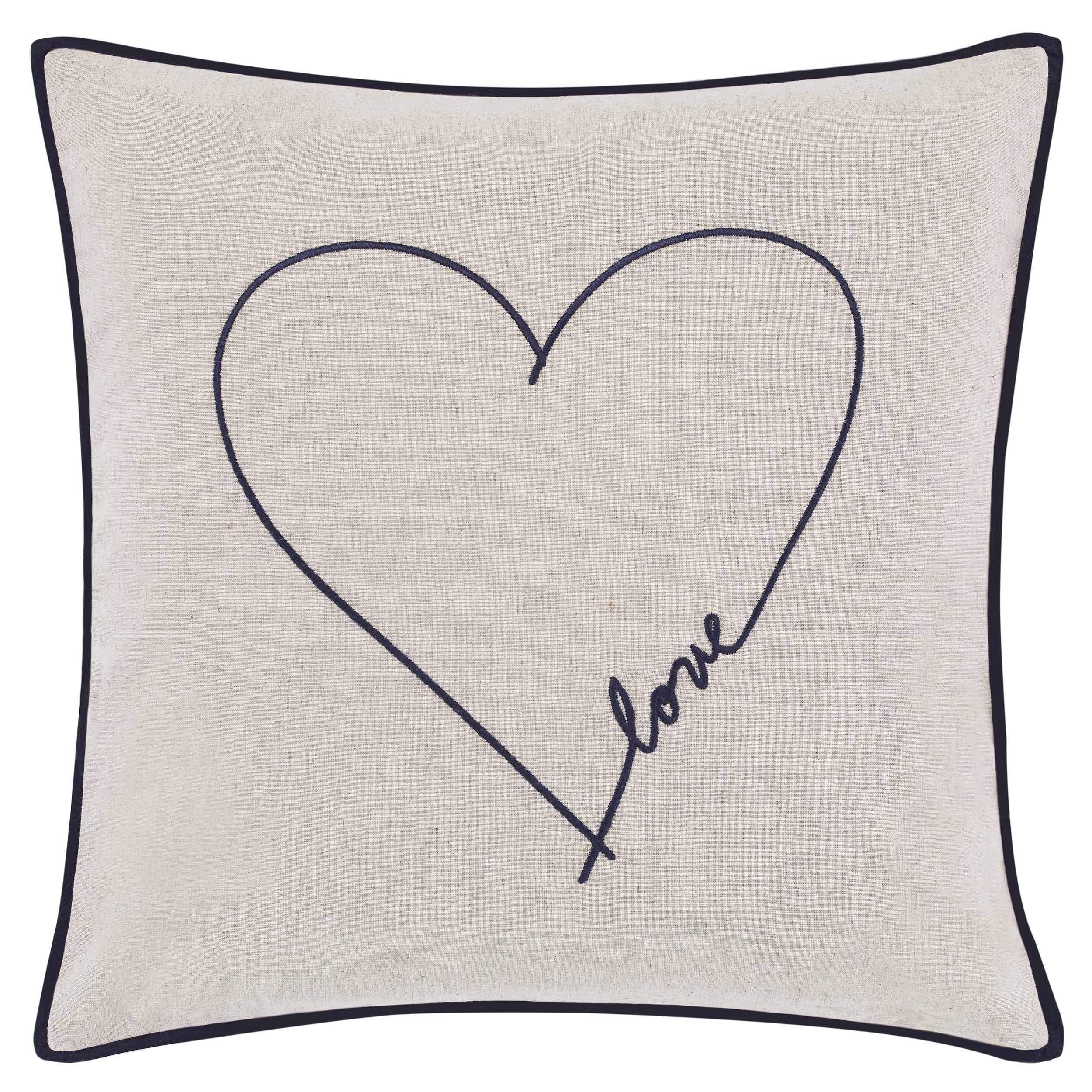 ED Ellen DeGeneres Jaspe Throw Pillow, 18x18, Beige