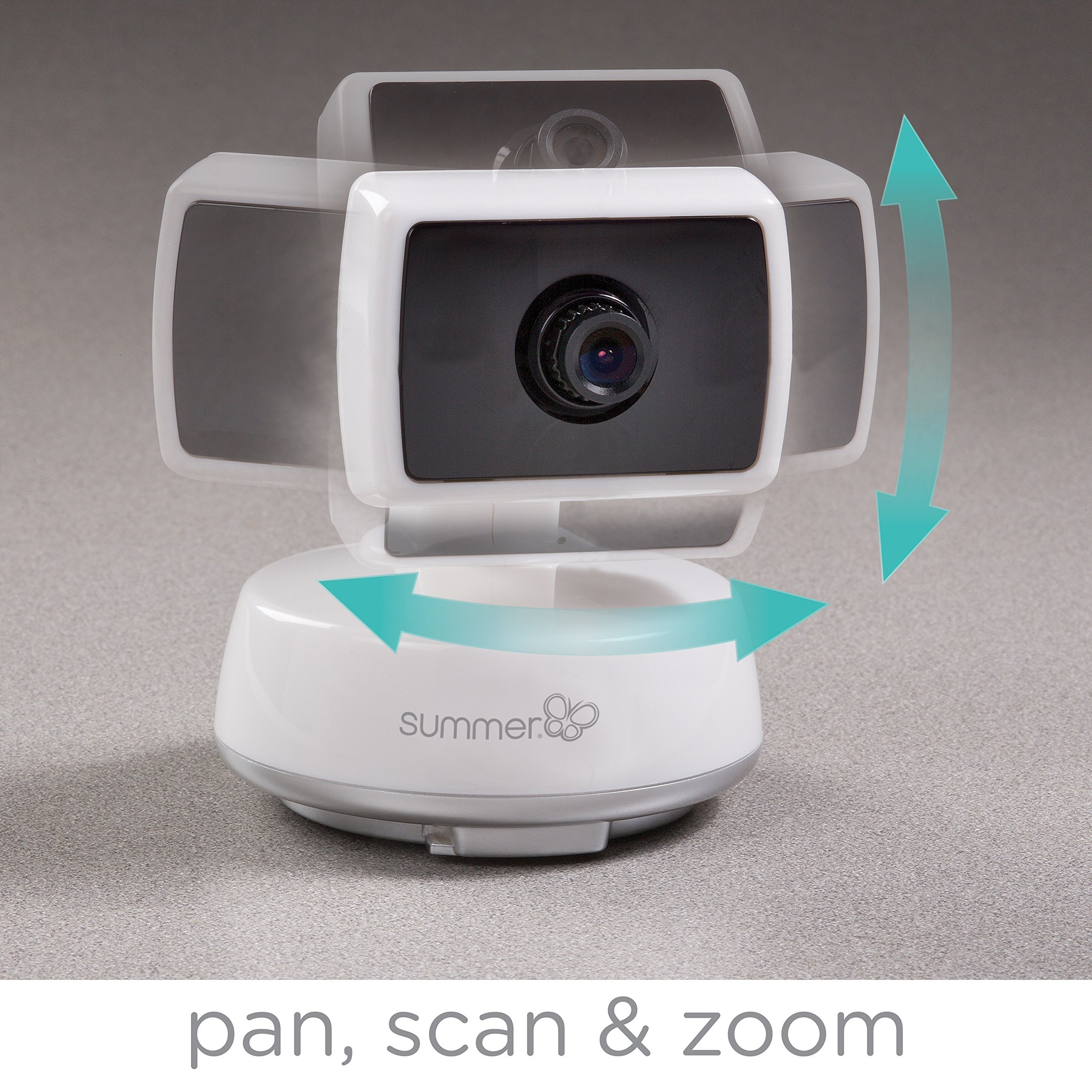 Summer Infant Baby Touch Pan/Scan/Zoom Video Baby Monitor, 3.5'' by Summer Infant (Image #3)