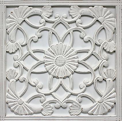 Amazon.com: Fetco Home Décor Medallion Jayda Wall Art, 30\