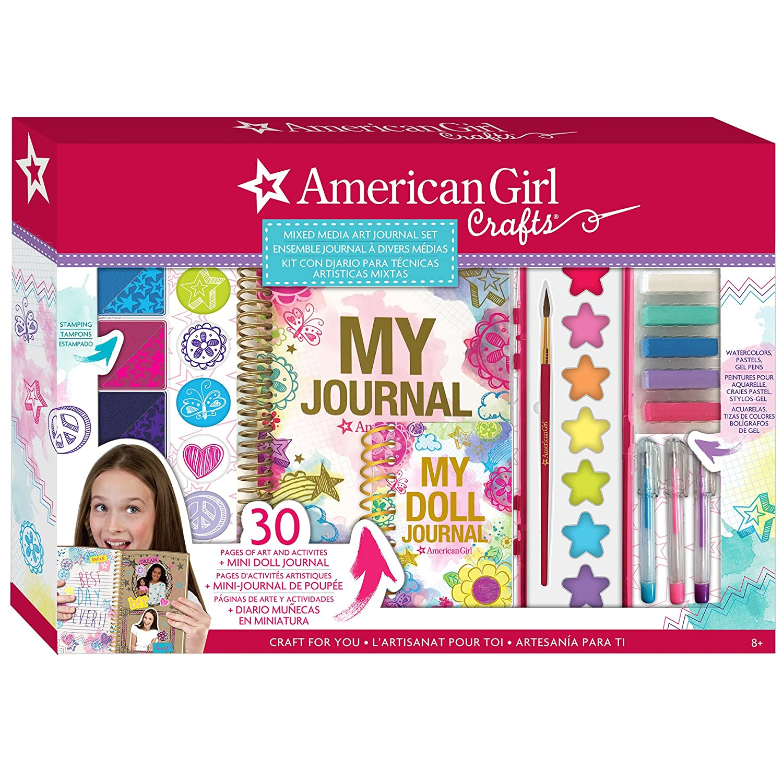 Amazon American Girl Mixed Media Art Journal Set Toys Games