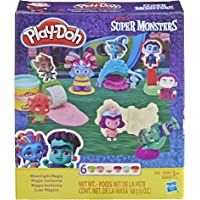 Play Doh Super Monsters Moonlight Magic Toolset with 6 Non-Toxic Colors