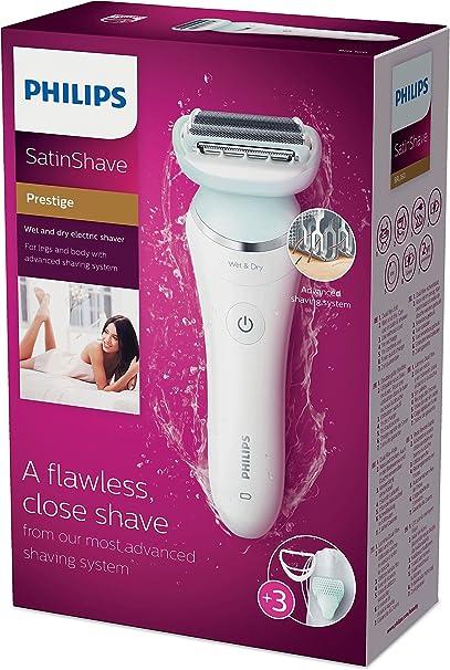 Philips SatinShave Prestige Afeitadora eléctrica en seco y húmedo ...