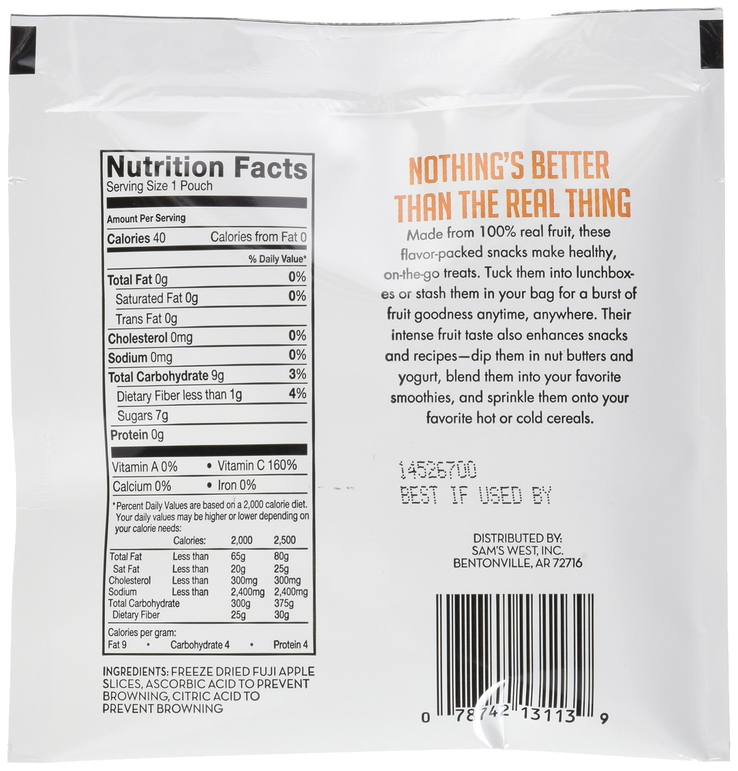 Member's Mark Freeze-Dried Fruit Snacks, 7.05 Ounce by Member's Mark (Image #4)
