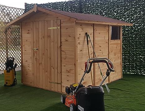 Caseta de jardín Almacenamiento para Herramientas de pino maciza SP. 19 mm | Mod.