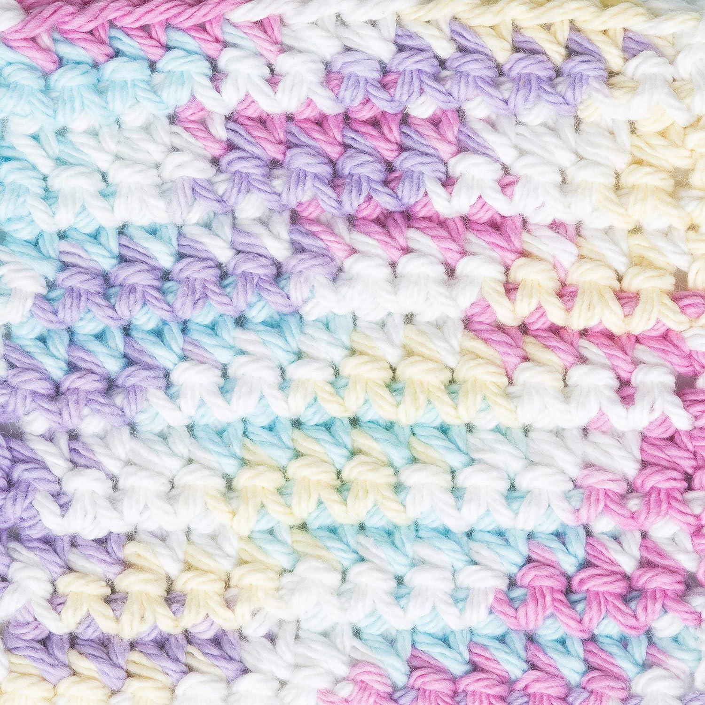 Lavender Bernat Handicrafter Cotton Scents Yarn 1.5 oz Gauge 4 Medium Worsted
