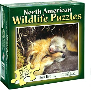 product image for Channel Craft North American Wildlife Jigsaw Puzzle - Fox Pup